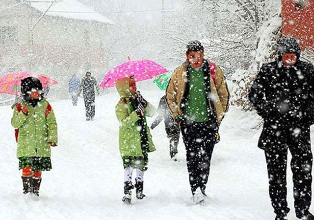 12 Ocak tatil olan iller yarın okul yok!