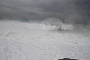 Konyaaltı sahilinde görsel şölen