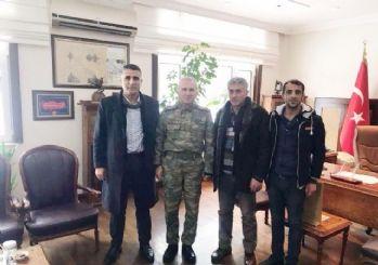 Polatlı Haymanalılar Derneği'nden Topçu ve Füze Okulu Komutanı Ağırcan'a Ziyaret