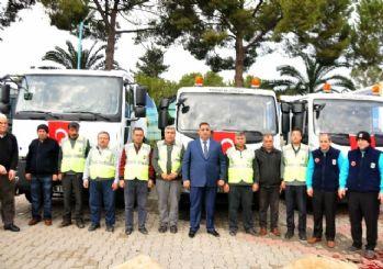 Tarsus Belediyesi araç filosunu güçlendirdi