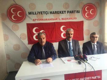 MHP Afyonkarahisar yönetimi görevden alındı
