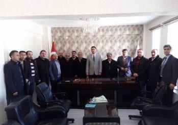 Belediye Başkan Vekili Tekbıyıkoğlu'na ziyaret