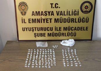 Amasya polisinden uyuşturucu operasyonları: 8 tutuklama