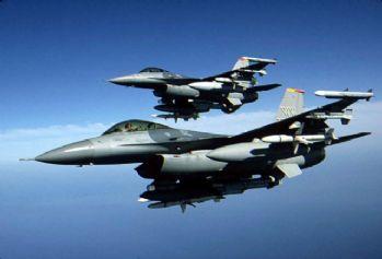 Kuzey Irak'a hava harekatı: 14 hedef vuruldu