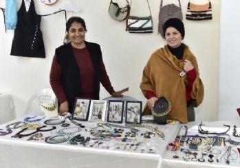 Kadınlar Hanımeller Çarşısı ile çocuklarının eğitimine destek oluyorlar
