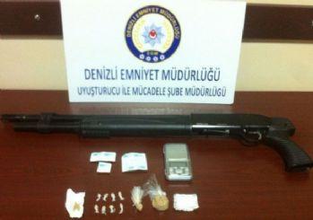 Denizli'de uyuşturucu operasyonu: 4 tutuklama