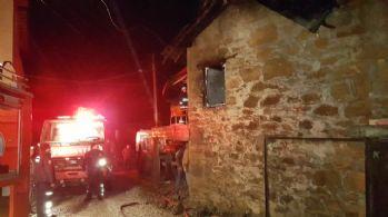 Antalya'da ev yangını: 1 ölü