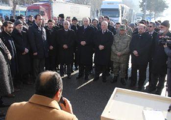 Erzurum'dan Halep'e yardım