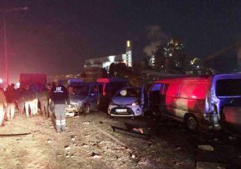 İzmir'de buzlanma kazası: 1 ölü 7 yaralı