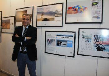 Gazeteci Canaran'ın dünyaya mal olan fotoğrafları Mersin sergisinde
