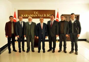 Karaman'da hayırseverlerden eğitime destek