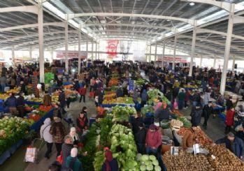 Liman Mahallesi kapalı semt pazarı açıldı