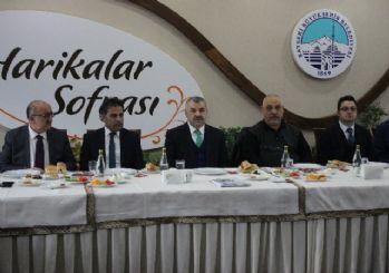 Başkan Çelik 'Gazeteciler' ile buluştu