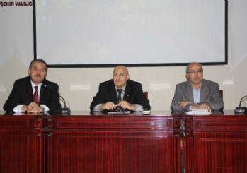 Nevşehir'de Suriye yardımları değerlendirildi