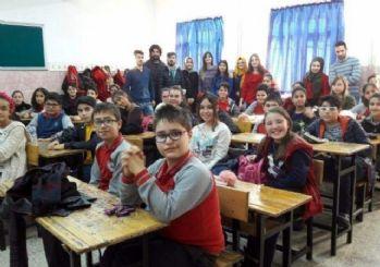 Aydın'da 175 bin öğrenci gözlerini görme engelliler için kapayacak