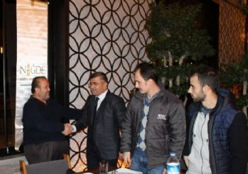 Başkan Akdoğan gazetecileri unutmadı