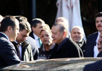 (Özel Haber) Cumhurbaşkanı Erdoğan Meclis Başkanını ziyaret etti
