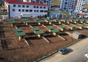 Tece'deki Hobi Bahçesi'nin kura çekimi yapıldı