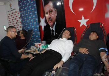 AK Parti Siirt İl Başkanlığından kan bağışı