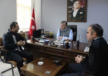 AK Parti Konak'tan taziye ziyareti