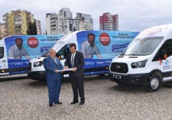 Çukurova Belediyesi'nden vatandaşa ücretsiz pazar servisi