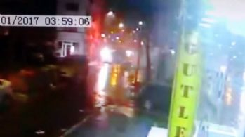 İstanbul'da korkutan patlama kamerada