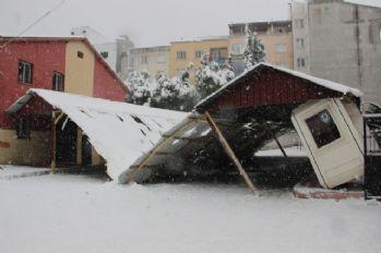 Meteoroloji, çatı çökmelerine karşı uyardı