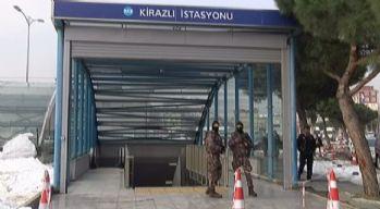 Metroda 'Ortaköy saldırganı' ihbarı polisi alarma geçirdi