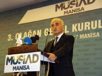 MÜSİAD Genel Başkanı Olpak'tan döviz değerlendirmesi