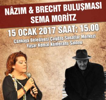 ÇSM'de 'Nazım&Brecht Buluşması' rüzgarı esecek