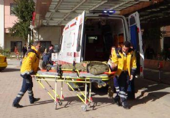 Çatışmalarda yaralanan 13 ÖSO ve 1 Türk askeri Kilis'e getirildi