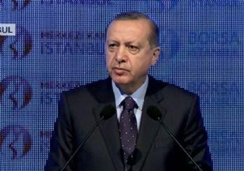 Erdoğan: Döviz kurunu silah olarak kullanıp üzerimize geliyorlar; varsın gelsinler