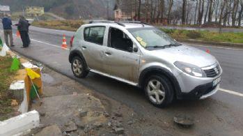 Aşırı hız kazaya yol açtı: Biri bebek 6 yaralı