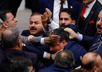 Mecliste yine kavga çıktı! MHP'den sert tepki