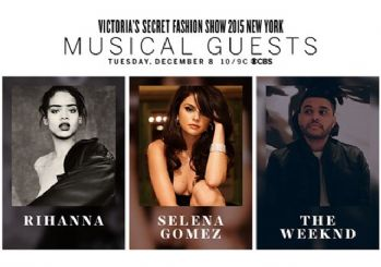 Rihanna ve Selena Gomez Victoria's Secret'ta