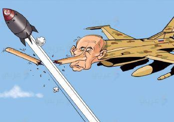 Arap medyasından anlamlı Putin karikatürü