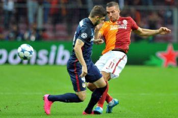 Atletico Madrid-Galatasaray maç sonucu