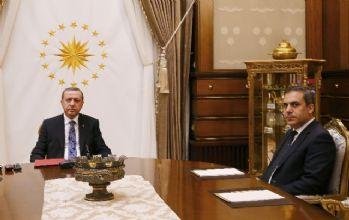 Cumhurbaşkanı Erdoğan Fidan'ı kabul etti