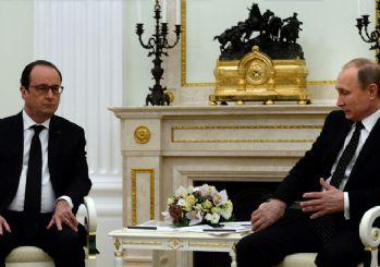 Kremlin'de Hollande'dan 'savaşabiliriz' açıklaması
