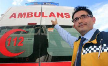 Ambulanslara 12 saniye içinde yol vermeyen yandı