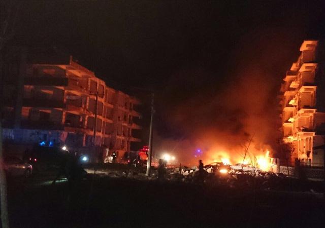 Şanlıurfa'da Savcılar Sitesi'nde patlama