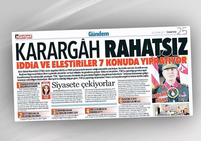Hürriyet'ten tartışılan manşet hakkında açıklama: Editoryal hata!