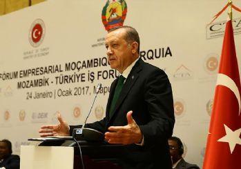 Cumhurbaşkanı Erdoğan:Biz Afrika'yı kimlerin sömürdüğünü gayet iyi biliriz