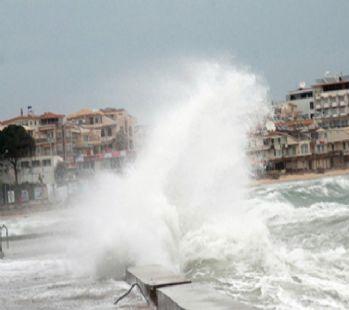 Doğu Akdeniz için don ve fırtına uyarısı