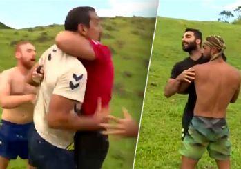 Survivor'da Serhat Akın ile Eser West'in kavgası!