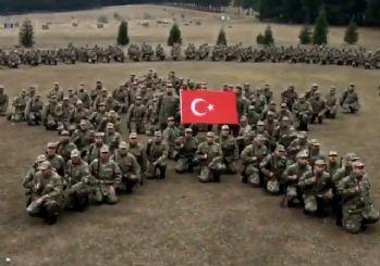 El Bab şehidi Üsteğmen'in anısına askerden duygulandıran Atsız şiiri videosu!