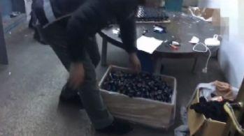 İstanbul'da sahte içki imalathanesine operasyon
