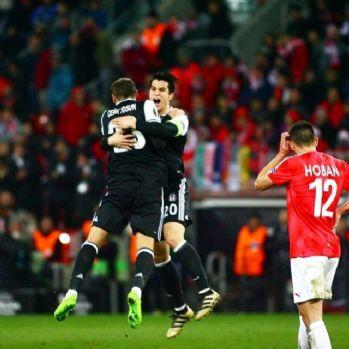 Beşiktaş, İsrail'i devirdi: Tur kapısını araladı