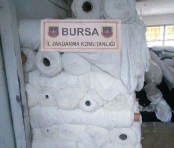 Çalıştığı fabrikadan 1 milyonluk kumaş çaldı