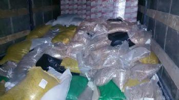 Kuş yemlerinin arasından 244 kilo uyuşturucu çıktı